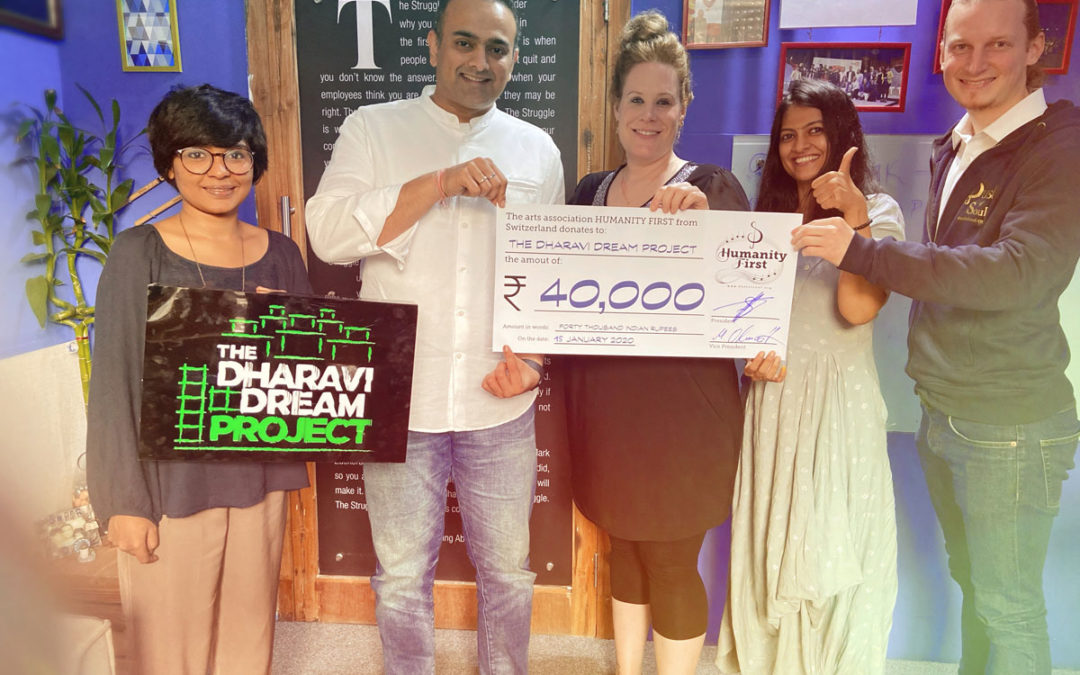 Victory Video-Projekt mit dem Dharavi Dream Project Mumbai